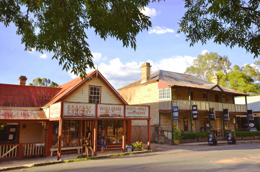 Wollombi Village