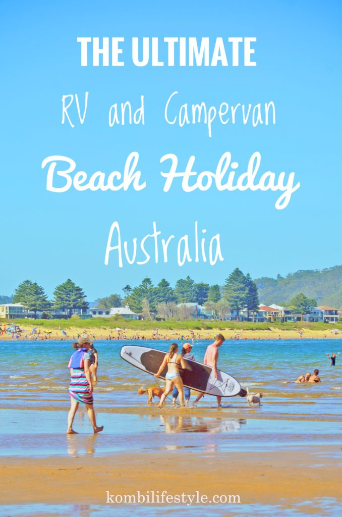 The ultimate RV and Campervan Beach Holiday Australia