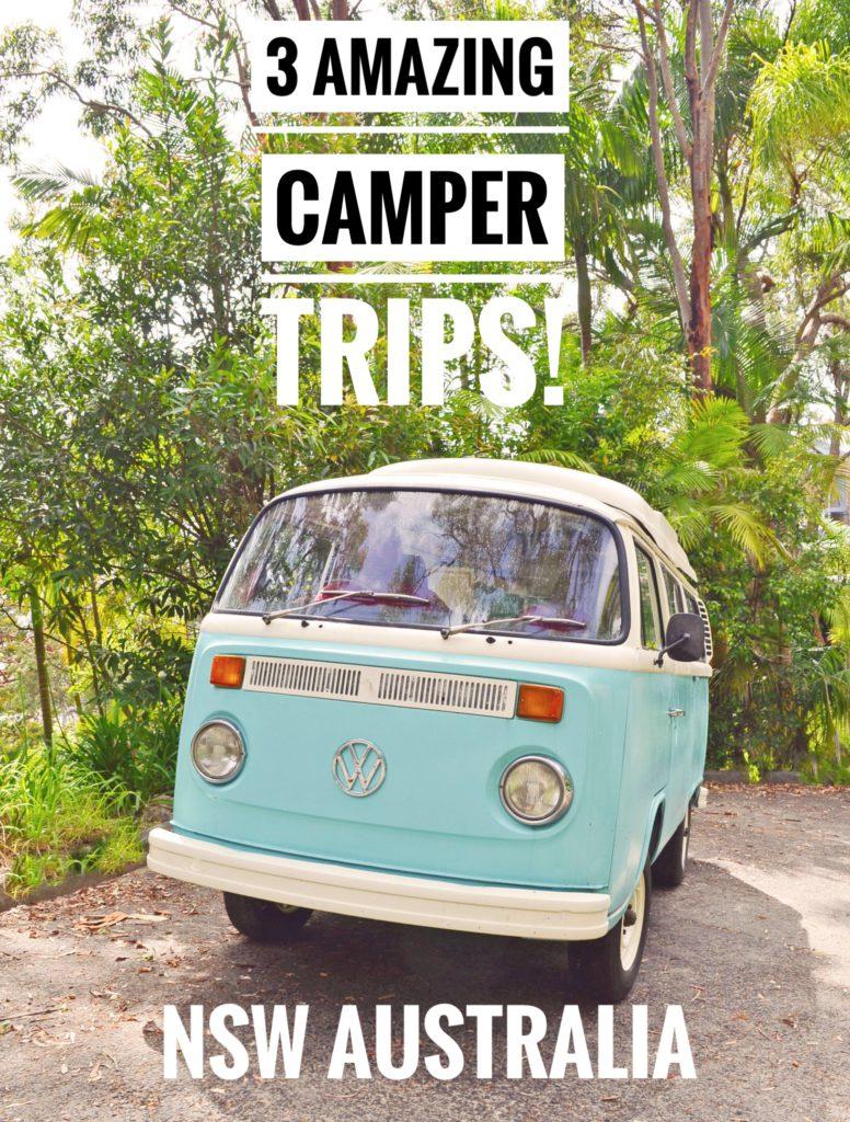 best camper trips australia
