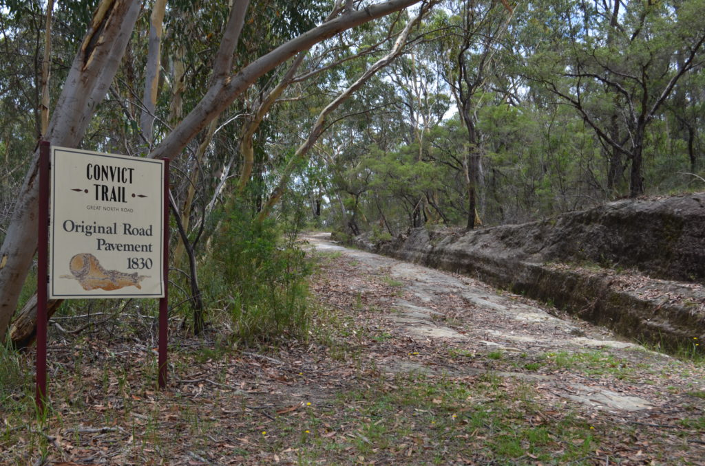 convict trail tourist drive 33