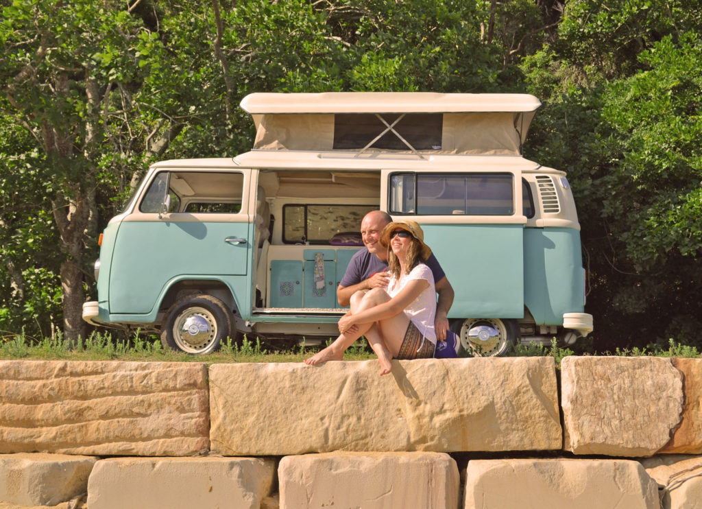 Shelley and Ian Komi Lifestyle with VW Kombi