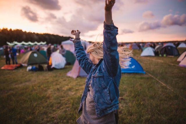 road trip camping festival