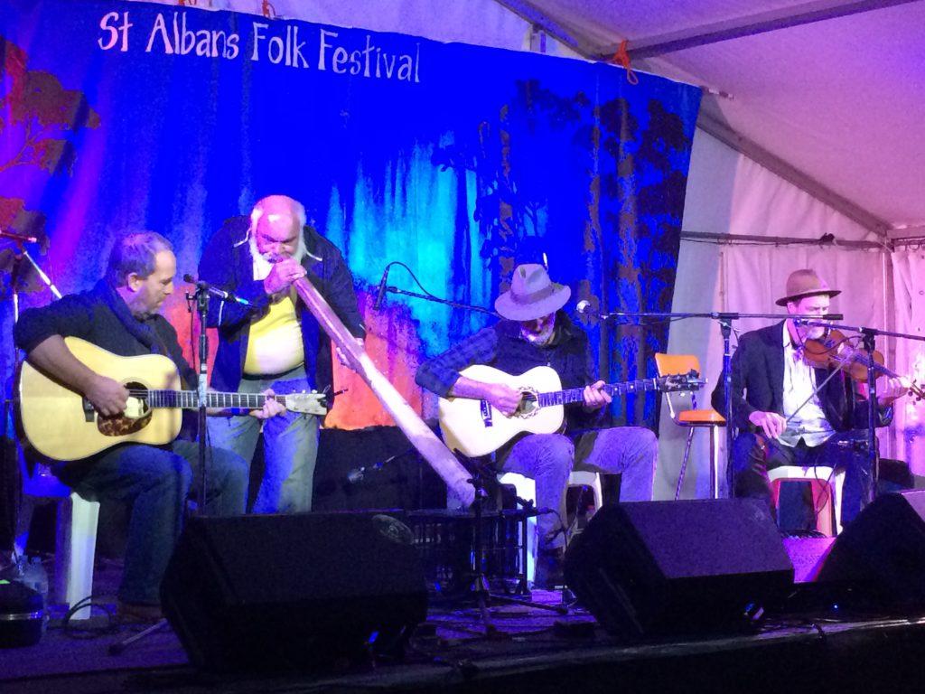 Shane Howard Trio St Albans Folk Festival