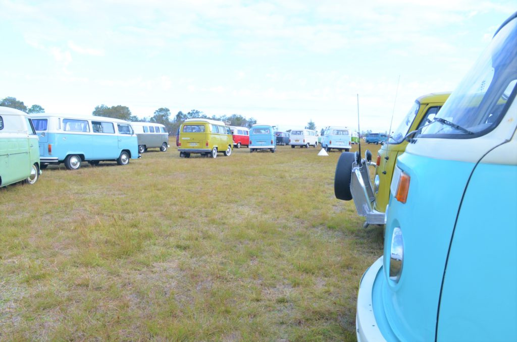 Old Bar Beach Festival Kombi Convoy