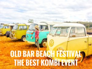 Old Bar Beach Festival Kombi Event